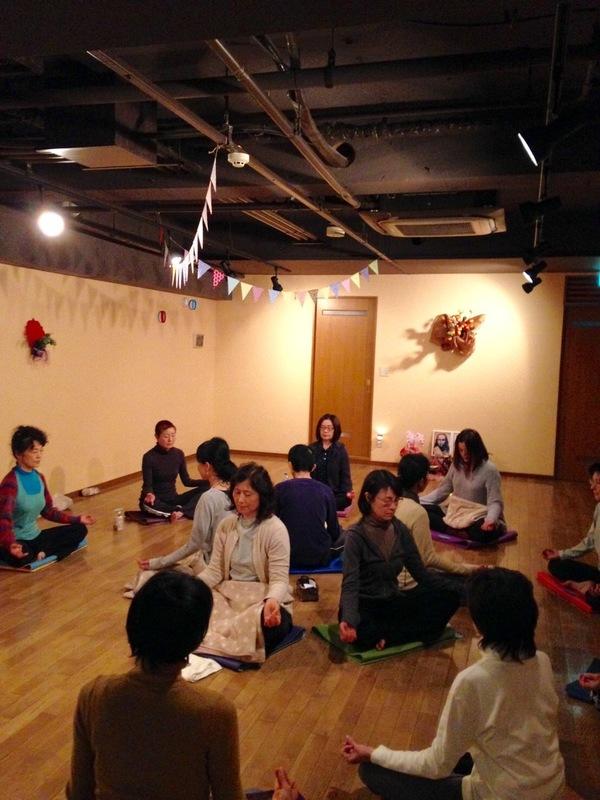 11月の瞑想会