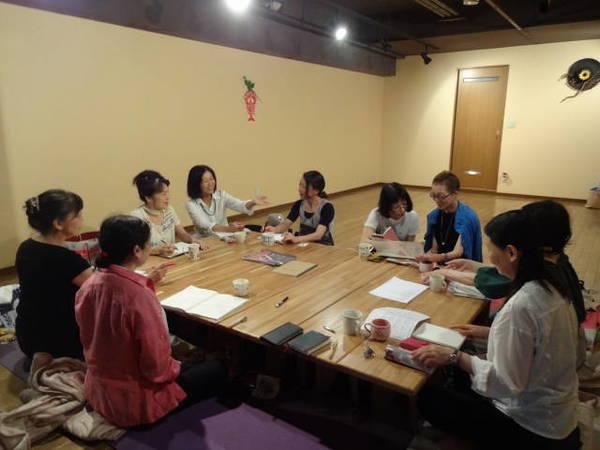 8月のスタッフ会議