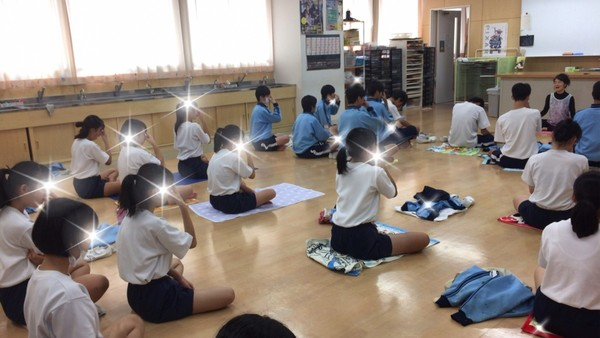 東橘中学校地域ふれあい体験学習