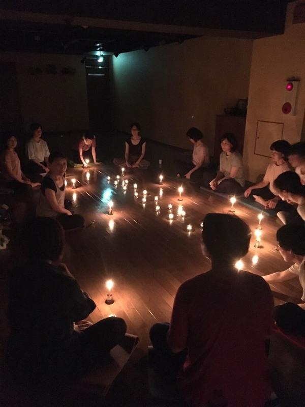 満月の瞑想会